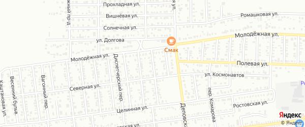 10 Северный проезд на карте Кропоткина с номерами домов