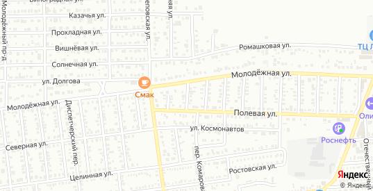 2 Полевой проезд в Кропоткине с номерами домов на карте. Спутник и схема онлайн