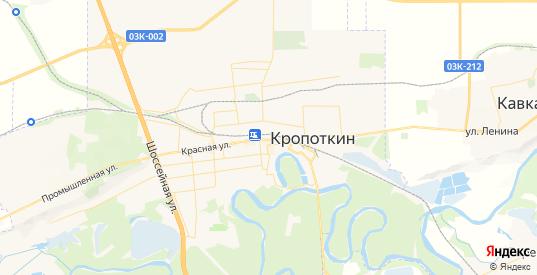 Карта Кропоткина с улицами и домами подробная. Показать со спутника номера домов онлайн