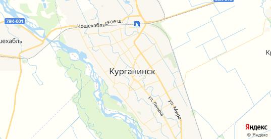 Карта Курганинска с улицами и домами подробная. Показать со спутника номера домов онлайн