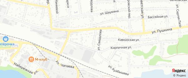 Карпинский переулок на карте Кропоткина с номерами домов