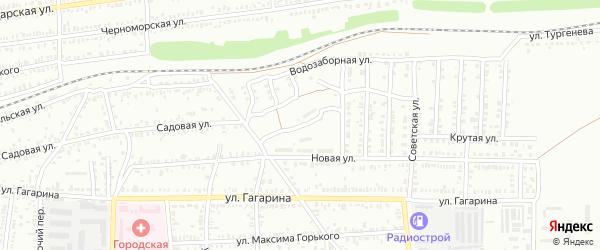 Мопровский проезд на карте Кропоткина с номерами домов