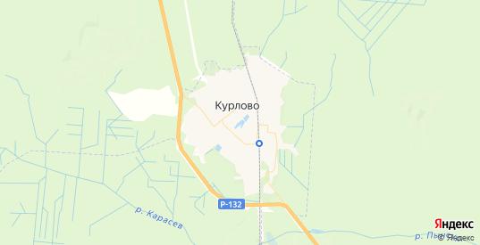 Карта Курлово с улицами и домами подробная. Показать со спутника номера домов онлайн