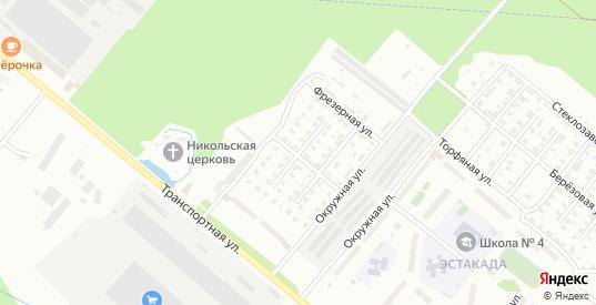 Мостовая 9-й проезд в Гусе-Хрустальном с номерами домов на карте. Спутник и схема онлайн