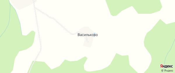 Карта деревни Васильково в Ярославская области с улицами и номерами домов