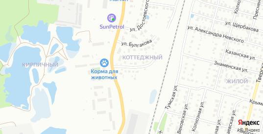 Родниковая улица в Гусе-Хрустальном с номерами домов на карте. Спутник и схема онлайн