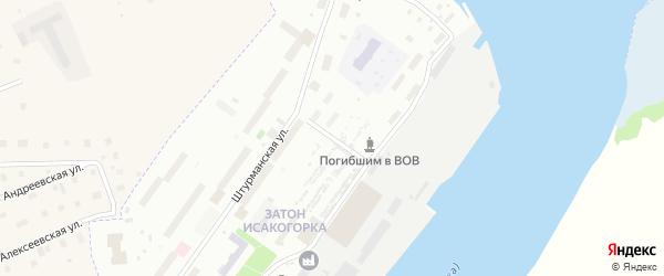 Улица Судоремонтников на карте Архангельска с номерами домов