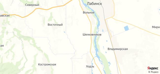 Кармолино-Гидроицкий на карте