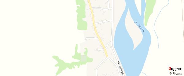 Родниковый переулок на карте аула Ходзь Адыгеи с номерами домов