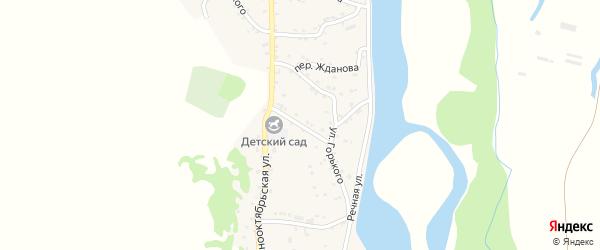 Улица Победы на карте аула Ходзь Адыгеи с номерами домов