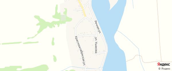 Первомайская улица на карте аула Ходзь Адыгеи с номерами домов