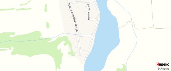 Улица Мичурина на карте аула Ходзь Адыгеи с номерами домов