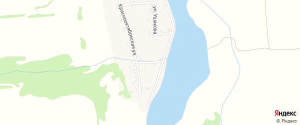 Улица Мичурина на карте аула Ходзь с номерами домов