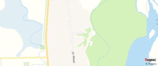 Речной переулок на карте хутора Шелковникова Адыгеи с номерами домов