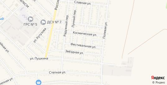 Орбитальный переулок в Гулькевичах с номерами домов на карте. Спутник и схема онлайн