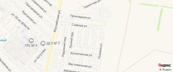 Одесский переулок на карте Гулькевичей с номерами домов