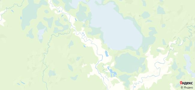 Орьма на карте
