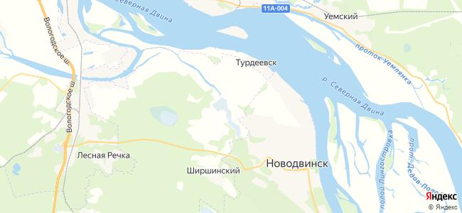 Слободка на карте