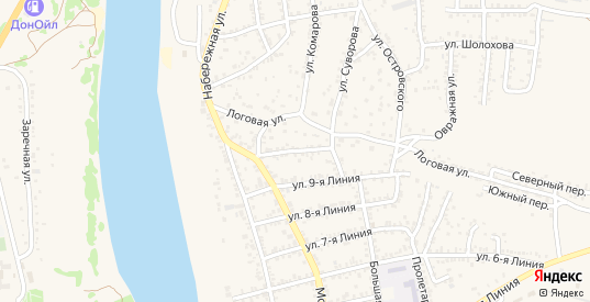 СНТ Пигарка 10-линия в Белой Калитве с номерами домов на карте. Спутник и схема онлайн