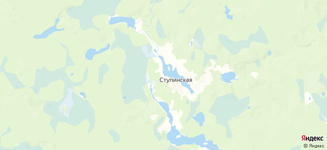 Турлаевская на карте