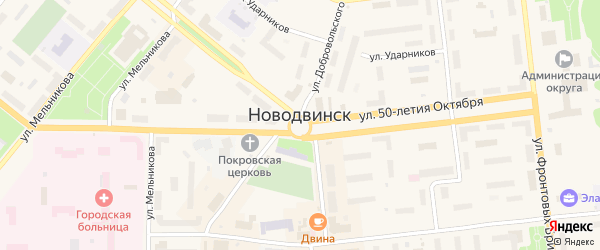 Улица Центральная 4-я Линия на карте населенного пункта СНТ Зори Севера с номерами домов