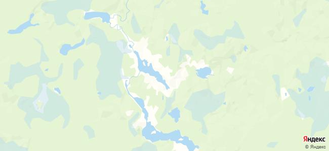 Торновская на карте