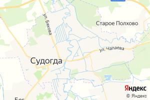 Карта г. Судогда