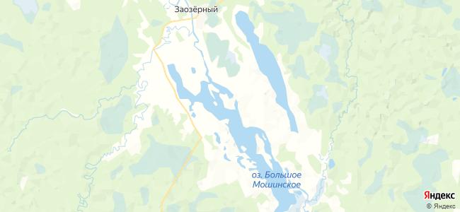 Погост на карте