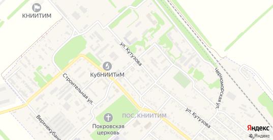 Тупиковый переулок в Новокубанске с номерами домов на карте. Спутник и схема онлайн