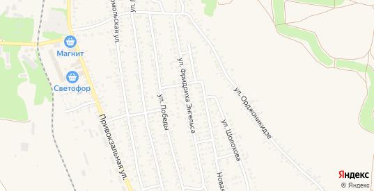 Улица Фридриха Энгельса в Калаче с номерами домов на карте. Спутник и схема онлайн