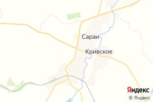 Карта пгт Сараи Рязанская область