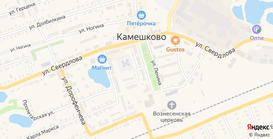 Улица 3 Интернационала в Камешково с номерами домов на карте. Спутник и схема онлайн