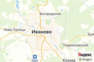 Карта г. Иваново Ивановская область