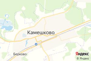 Карта г. Камешково Владимирская область