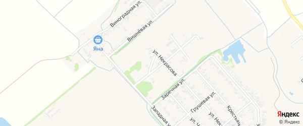 Охотничья улица на карте Новокубанска с номерами домов