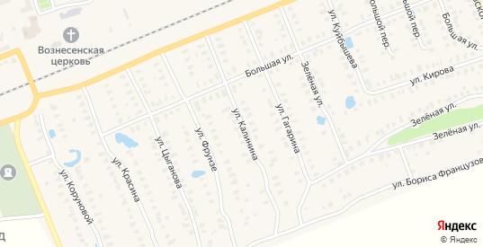 Улица Калинина в Камешково с номерами домов на карте. Спутник и схема онлайн