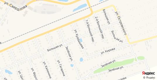 Улица Куйбышева в Камешково с номерами домов на карте. Спутник и схема онлайн