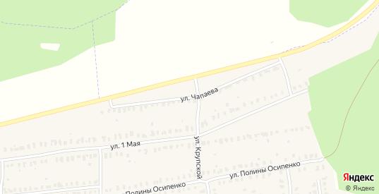 Улица Чапаева в Камешково с номерами домов на карте. Спутник и схема онлайн