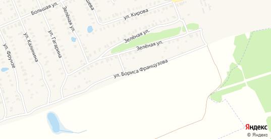 Улица Бориса Французова в Камешково с номерами домов на карте. Спутник и схема онлайн