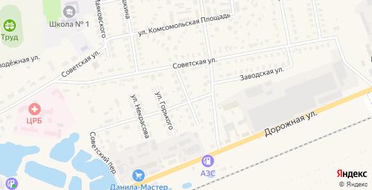 Улица Текстильщиков в Камешково с номерами домов на карте. Спутник и схема онлайн