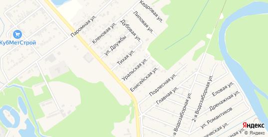 Уральская улица в Новокубанске с номерами домов на карте. Спутник и схема онлайн