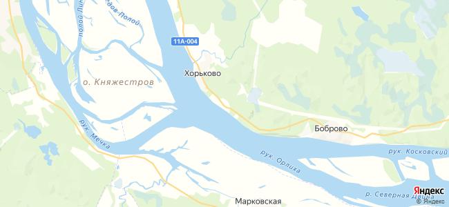 Трепузово на карте