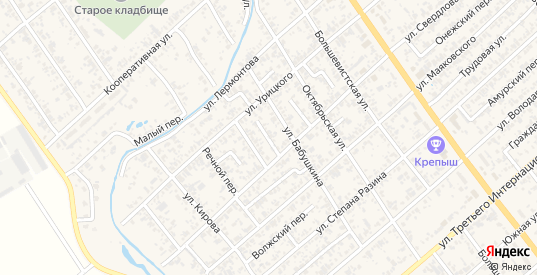 Родниковский переулок в Новокубанске с номерами домов на карте. Спутник и схема онлайн