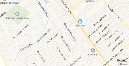 Ударный переулок в Новокубанске с номерами домов на карте. Спутник и схема онлайн