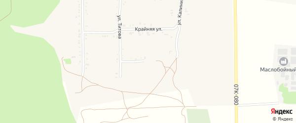 Улица Пугачева на карте Григорополисской станицы Ставропольского края с номерами домов
