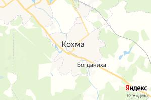 Карта г. Кохма Ивановская область