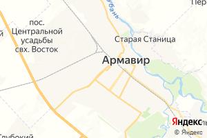 Карта г. Армавир Краснодарский край