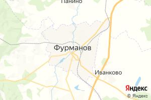 Карта г. Фурманов Ивановская область