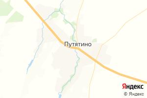 Карта с. Путятино Рязанская область