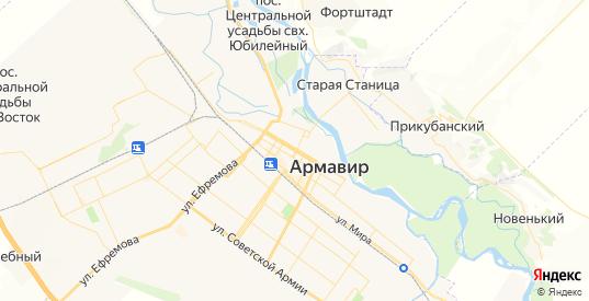 Карта Армавира с улицами и домами подробная. Показать со спутника номера домов онлайн
